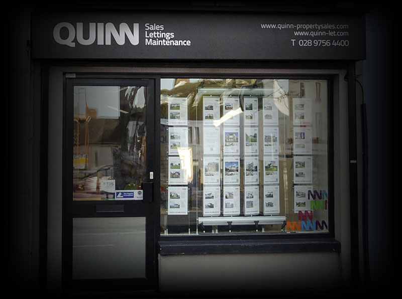 Ballynahinch Office Front